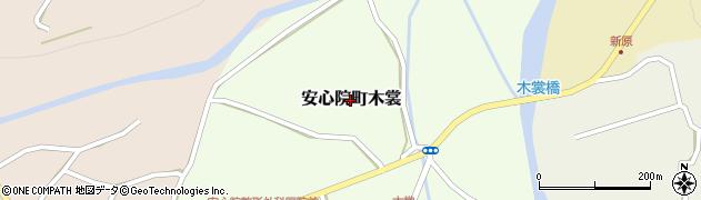 大分県宇佐市安心院町木裳周辺の地図