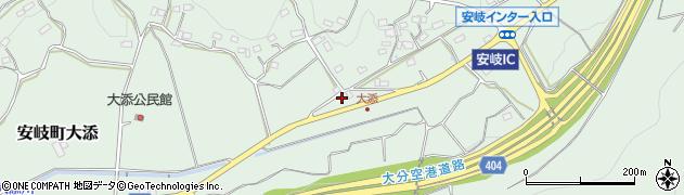 大分県国東市安岐町大添1416周辺の地図