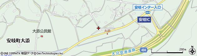 大分県国東市安岐町大添1226周辺の地図