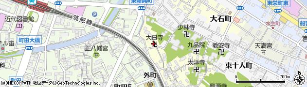 青龍大日寺周辺の地図