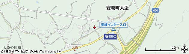 大分県国東市安岐町大添1374周辺の地図