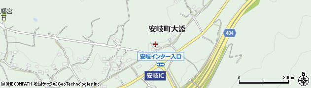 大分県国東市安岐町大添1651周辺の地図