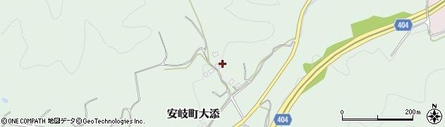 大分県国東市安岐町大添1799周辺の地図