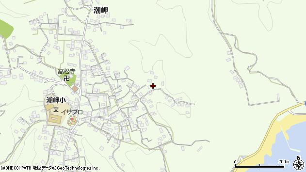 〒649-3502 和歌山県東牟婁郡串本町潮岬の地図