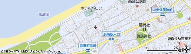 佐賀県唐津市浜玉町浜崎周辺の地図