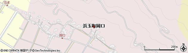 佐賀県唐津市浜玉町岡口周辺の地図