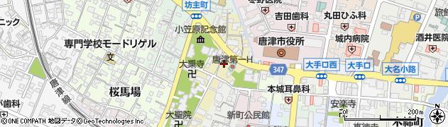 佐賀県唐津市西寺町周辺の地図