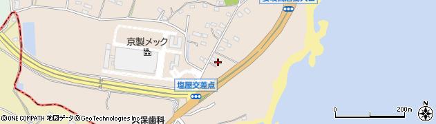 大分県国東市安岐町塩屋1432周辺の地図