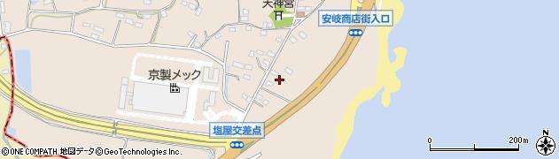 大分県国東市安岐町塩屋1456周辺の地図