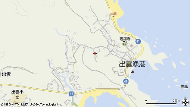 〒649-3501 和歌山県東牟婁郡串本町出雲の地図