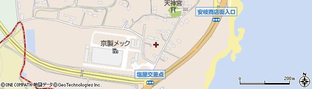 大分県国東市安岐町塩屋863周辺の地図
