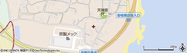 大分県国東市安岐町塩屋862周辺の地図