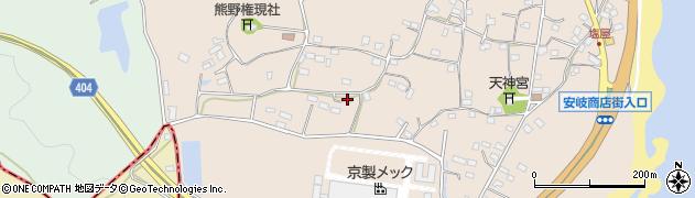 大分県国東市安岐町塩屋996周辺の地図