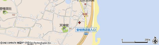 大分県国東市安岐町塩屋1550周辺の地図