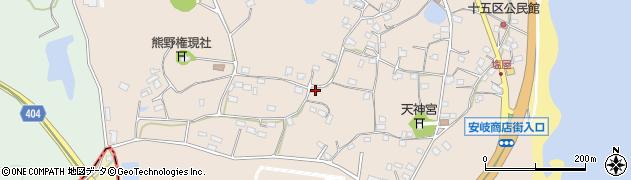 大分県国東市安岐町塩屋914周辺の地図