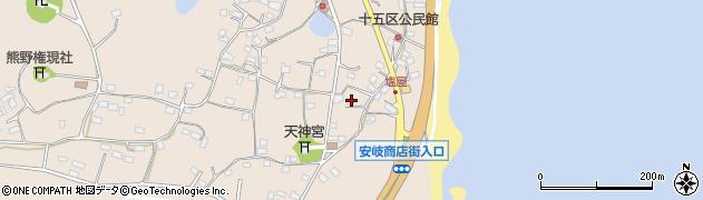 大分県国東市安岐町塩屋1560周辺の地図
