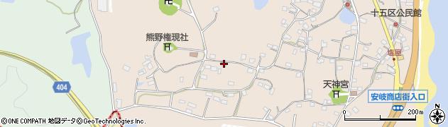 大分県国東市安岐町塩屋942周辺の地図