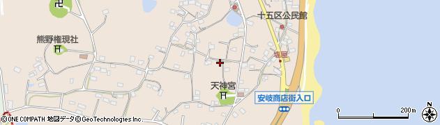 大分県国東市安岐町塩屋794周辺の地図