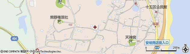 大分県国東市安岐町塩屋951周辺の地図
