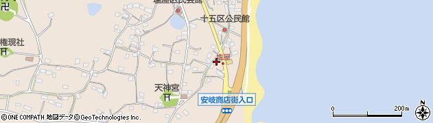 大分県国東市安岐町塩屋1584周辺の地図
