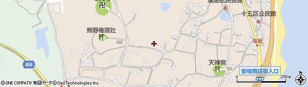 大分県国東市安岐町塩屋950周辺の地図