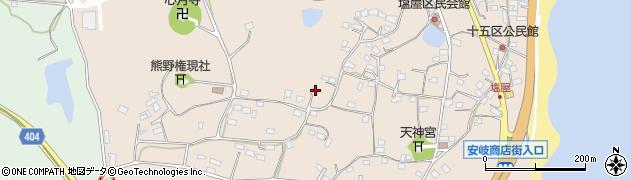 大分県国東市安岐町塩屋957周辺の地図