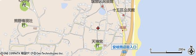大分県国東市安岐町塩屋833周辺の地図