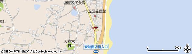 大分県国東市安岐町塩屋1586周辺の地図