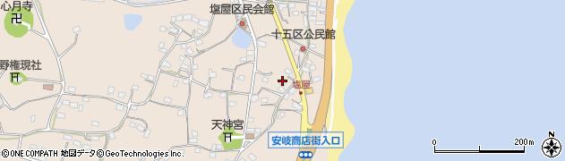大分県国東市安岐町塩屋1597周辺の地図
