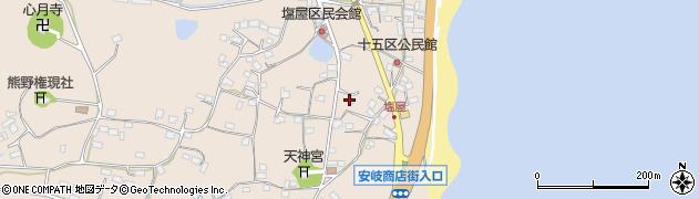 大分県国東市安岐町塩屋1563周辺の地図