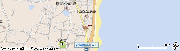 大分県国東市安岐町塩屋1588周辺の地図