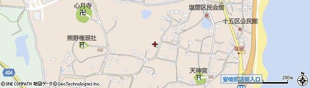 大分県国東市安岐町塩屋771周辺の地図