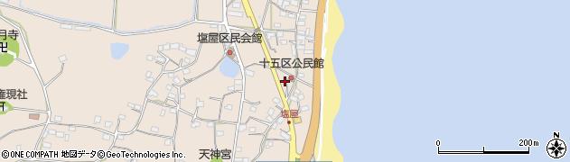 大分県国東市安岐町塩屋1595周辺の地図