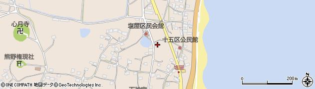 大分県国東市安岐町塩屋823周辺の地図