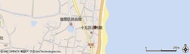 大分県国東市安岐町塩屋1617周辺の地図
