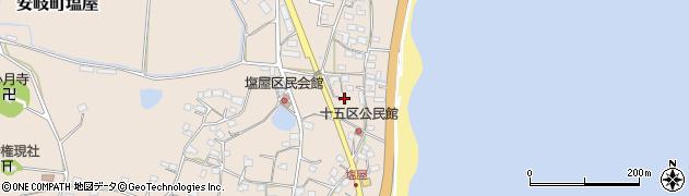 大分県国東市安岐町塩屋1624周辺の地図