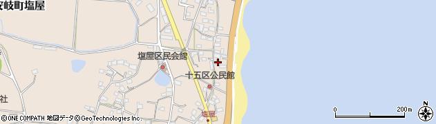 大分県国東市安岐町塩屋1627周辺の地図
