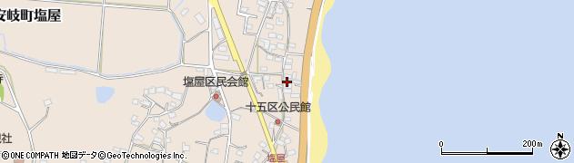 大分県国東市安岐町塩屋1629周辺の地図
