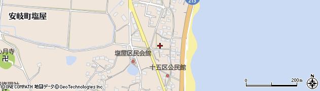 大分県国東市安岐町塩屋1643周辺の地図