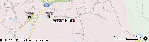 大分県国東市安岐町下山口1588周辺の地図