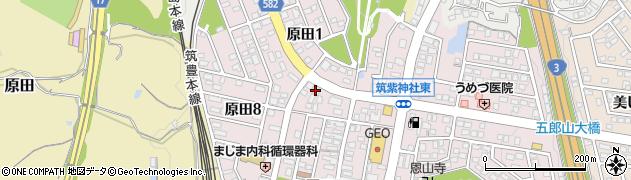 クリスタルハーモニー周辺の地図