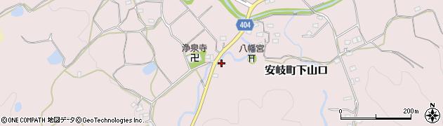 大分県国東市安岐町下山口1195周辺の地図