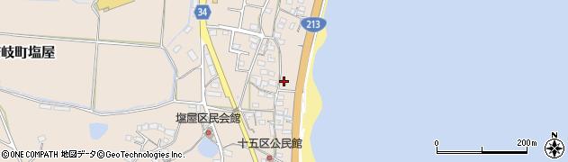 大分県国東市安岐町塩屋1653周辺の地図