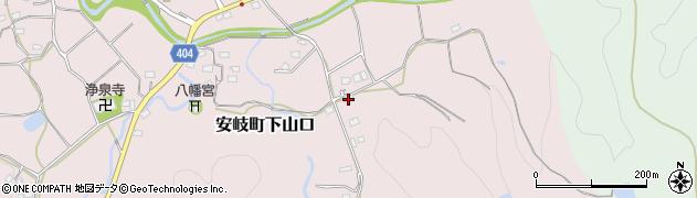 大分県国東市安岐町下山口1545周辺の地図