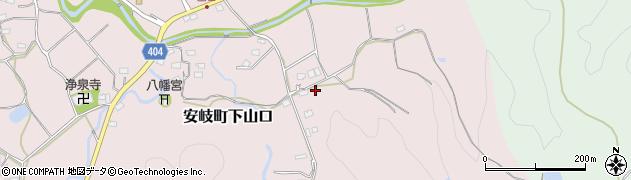 大分県国東市安岐町下山口1535周辺の地図