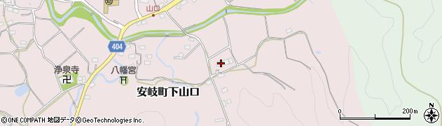 大分県国東市安岐町下山口1544周辺の地図