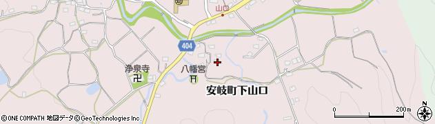 大分県国東市安岐町下山口1219周辺の地図