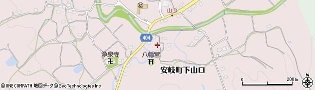 大分県国東市安岐町下山口1224周辺の地図