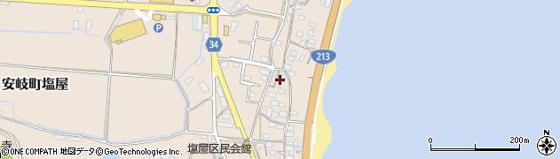 大分県国東市安岐町塩屋1663周辺の地図