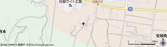 大分県国東市安岐町西本2064周辺の地図
